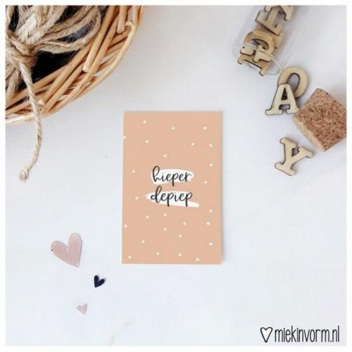 Minikaart hieperdepiep